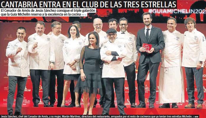 CANTABRIA ENTRA EN EL CLUB DE LAS TRES ESTRELLAS