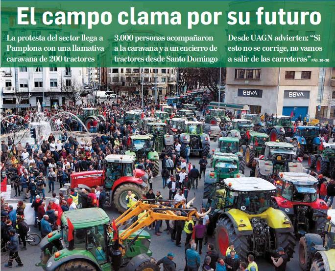 EL CAMPO CLAMA POR SU FUTURO
