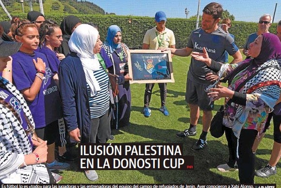 ILUSIÓN PALESTINA EN LA DONOSTI CUP