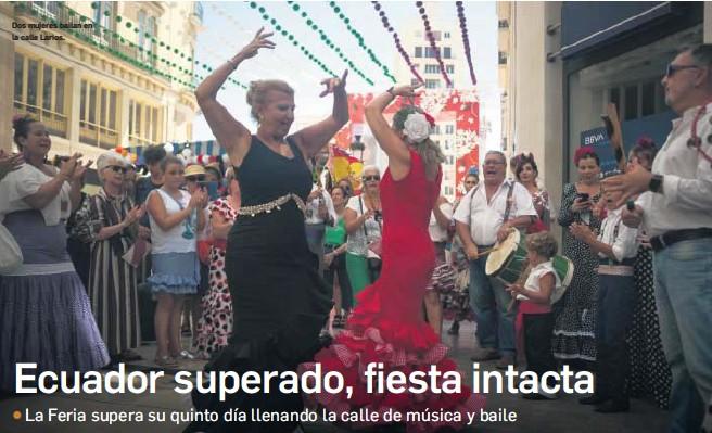 ECUADOR SUPERADO, FIESTA INTACTA