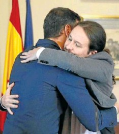 PSOE Y PODEMOS PACTAN GOBERNAR EN COALICIÓN CON IGLESIAS COMO VICEPRESIDENTE
