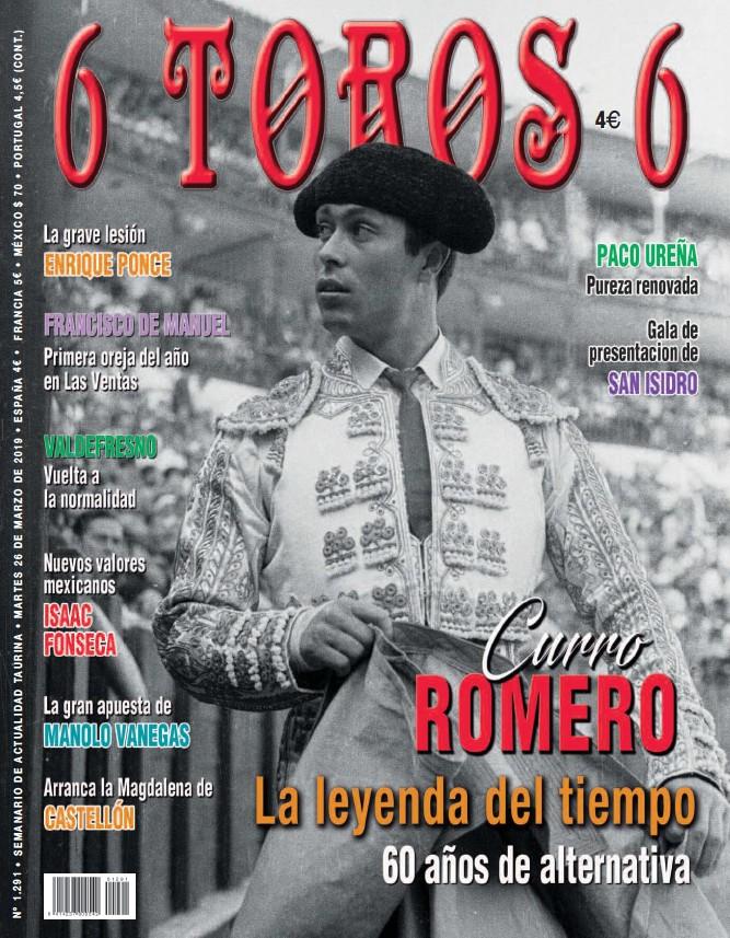CURRO ROMERO LA LEYENDA DEL TIEMPO