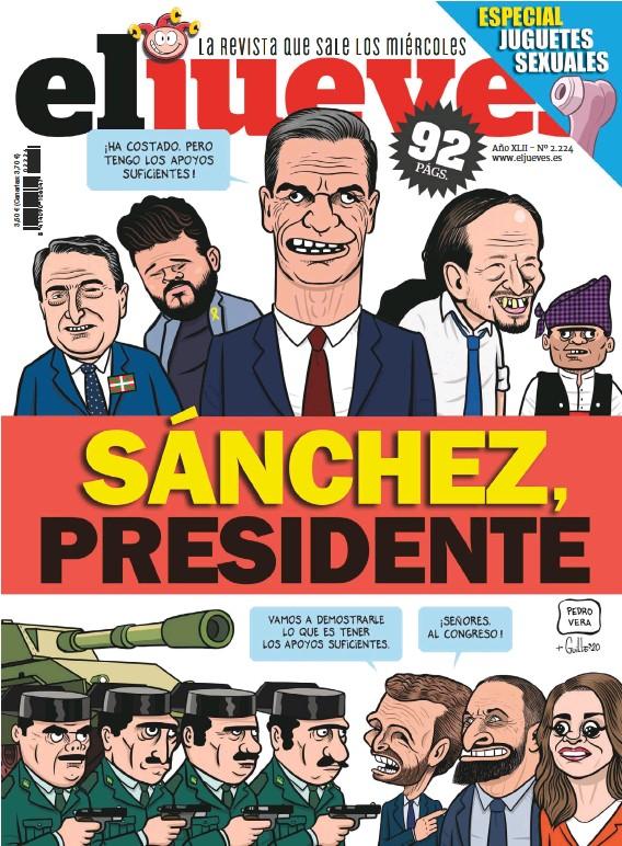 SÁNCHEZ, PRESIDENTE