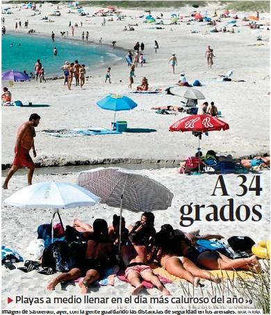 A 34 GRADOS