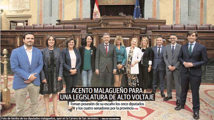 ACENTO MALAGUEÑO PARA UNA LEGISLATURA DE ALTO VOLTAJE