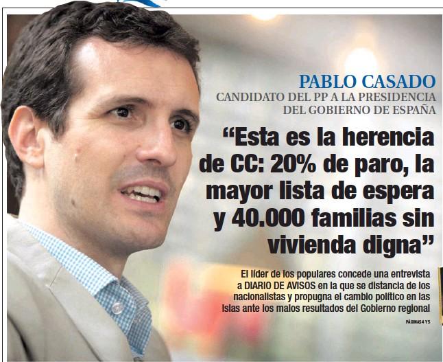 """""""ESTA ES LA HERENCIA DE CC: 20% DE PARO, LA MAYOR LISTA DE ESPERA Y 40.000 FAMILIAS SIN VIVIENDA DIGNA"""""""