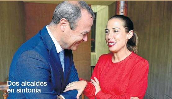 DOS ALCALDES EN SINTONÍA