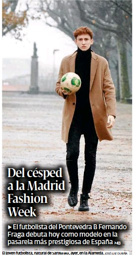 DEL CÉSPED A LA MADRID FASHION WEEK