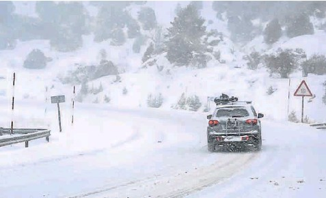 ALERTA EN EL PIRINEO, ZONAS DE TERUEL Y CINCO VILLAS POR INTENSAS NEVADAS