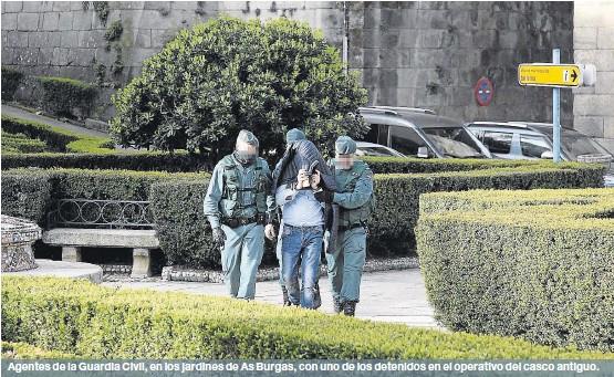 ONCE DETENIDOS EN LUGO Y EN OURENSE POR UNA TRAMA DE ROBOS VIOLENTOS