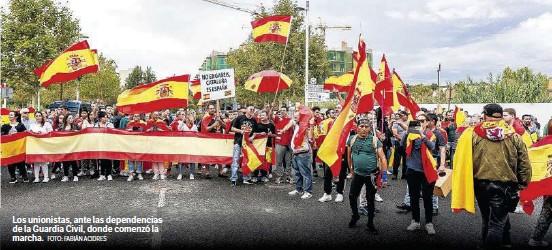 RÉPLICA UNIONISTA EN LAS CALLES DE TARRAGONA