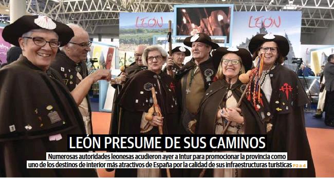 LEÓN PRESUME DE SUS CAMINOS