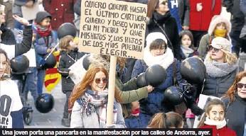 ANDORRA CLAMA POR EL EMPLEO