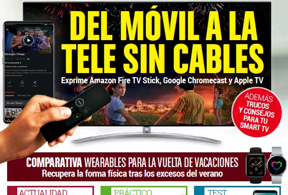 DEL MOVIL A LA TELE SIN CABLES