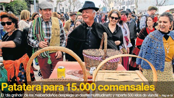 PATATERA PARA 15.000 COMENSALES