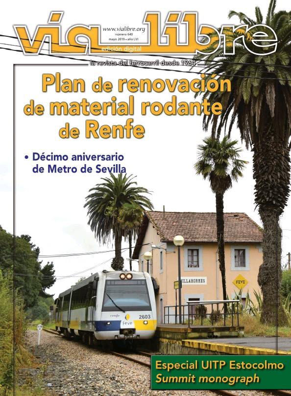 PLAN DE RENOVACIÓN DE MATERIAL RODANTE DE RENFE ESPECIAL UITP ESTOCOLMO SUMMIT MONOGRAPH
