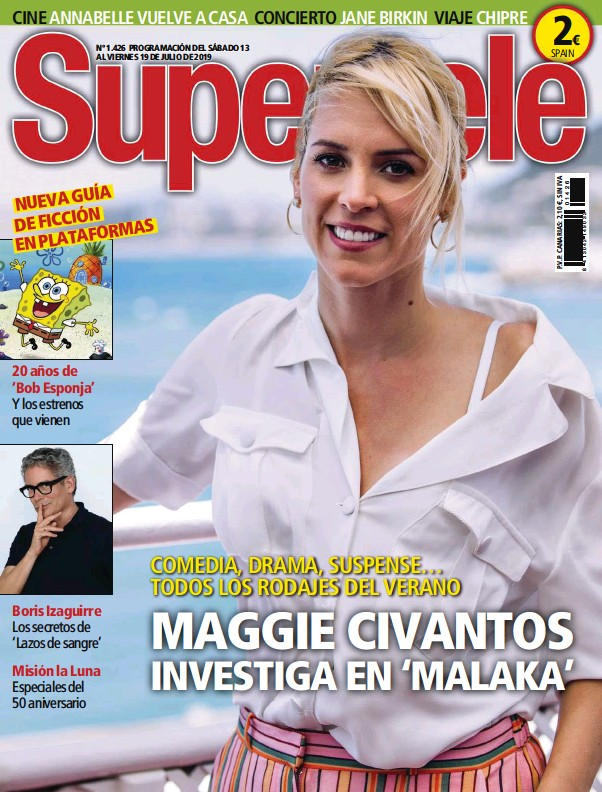 MAGGIE CIVANTOS INVESTIGA EN 'MALAKA'
