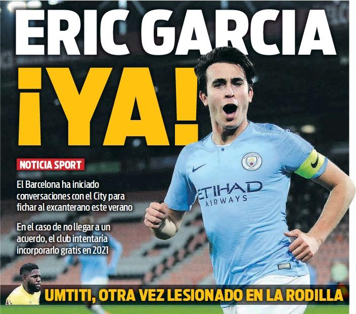 ERIC GARCIA ¡YA!