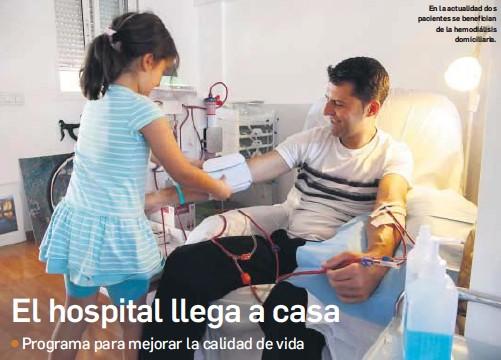 EL HOSPITAL LLEGA A CASA