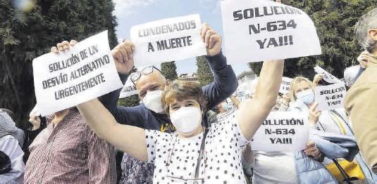 LOS VECINOS CLAMAN CONTRA EL ARGAYO DE SALAS Y EL OLVIDO DE LA COMARCA