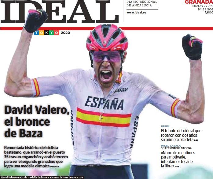DAVID VALERO, EL BRONCE DE BAZA