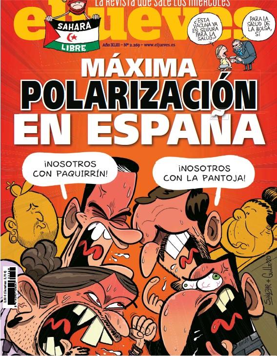 MÁXIMA POLARIZACIÓN EN ESPANA