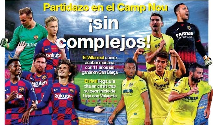 PARTIDAZO EN EL CAMP NOU ¡SIN COMPLEJOS!
