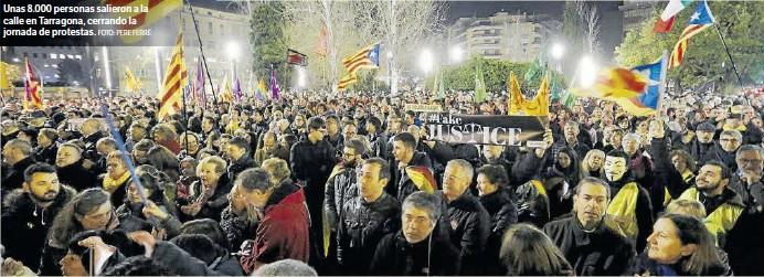 POCA HUELGA MUCHA PROTESTA