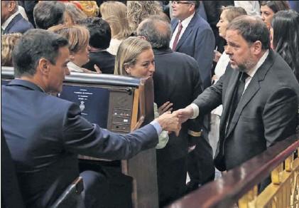 EL CONGRESO ABRE LA LEGISLATURA MOSTRANDO UNA FUERTE DIVISIÓN