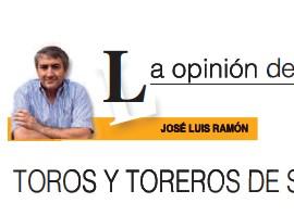 TOROS Y TOREROS DE SAN ISIDRO