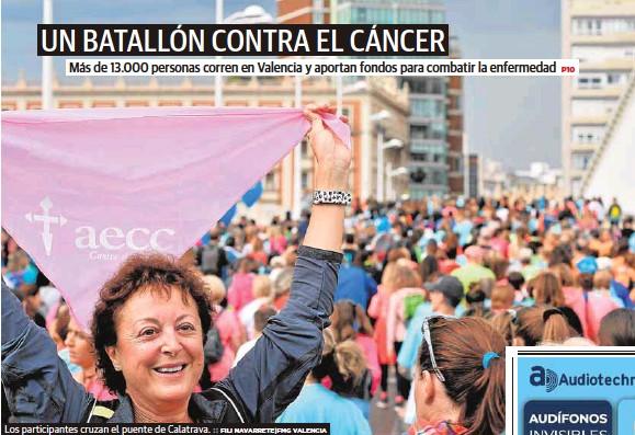 UN BATALLÓN CONTRA EL CÁNCER