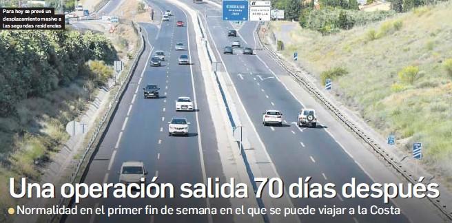 UNA OPERACIÓN SALIDA 70 DÍAS DESPUÉS