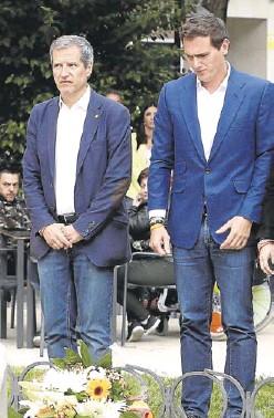 ALBERT RIVERA PRESENTA A SARA GIMÉNEZ PARA PRESIDIR EL CONGRESO