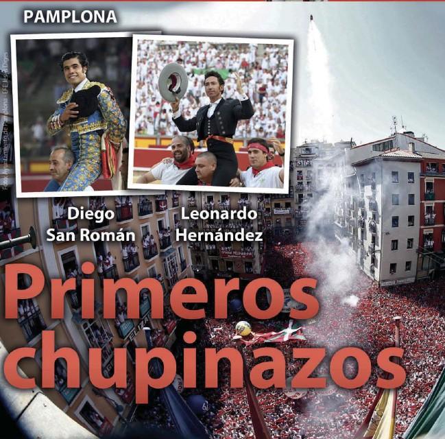 PRIMEROS CHUPINAZOS