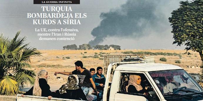 TURQUIA BOMBARDEJA ELS KURDS A SÍRIA