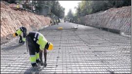 EL CANAL D'URGELL REFÀ 650 M PER ESQUERDES I CORRIMENTS