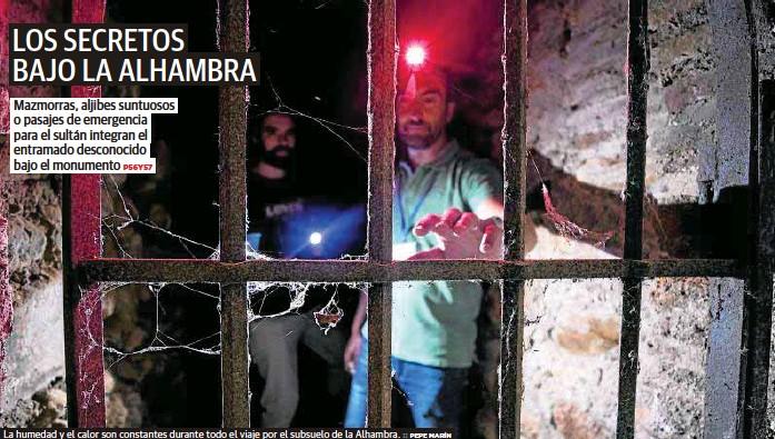 LOS SECRETOS BAJO LA ALHAMBRA