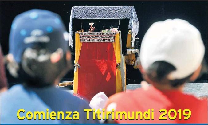 COMIENZA TITIRIMUNDI 2019