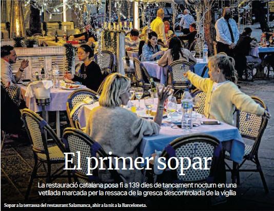EL PRIMER SOPAR
