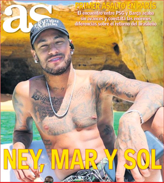NEY, MAR Y SOL
