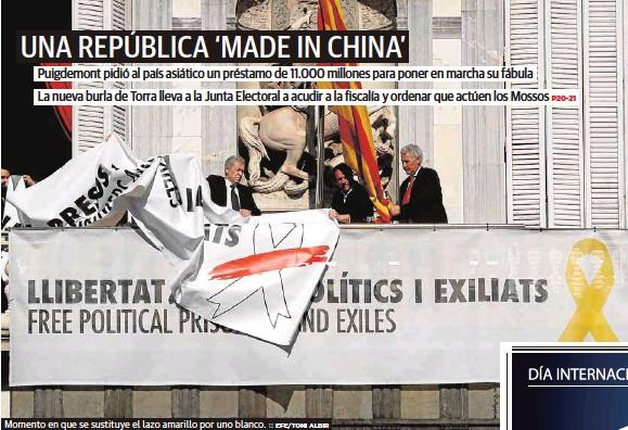 UNA REPÚBLICA 'MADE IN CHINA'