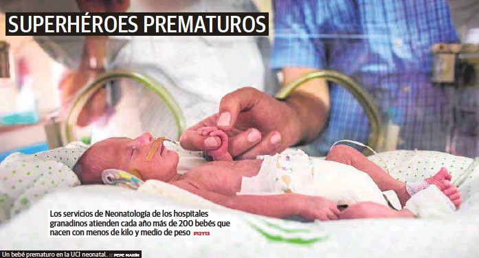 SUPERHÉROES PREMATUROS