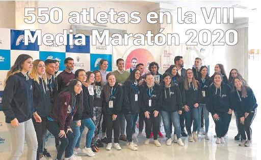 550 ATLETAS EN LA VIII MEDIA MARATÓN 2020