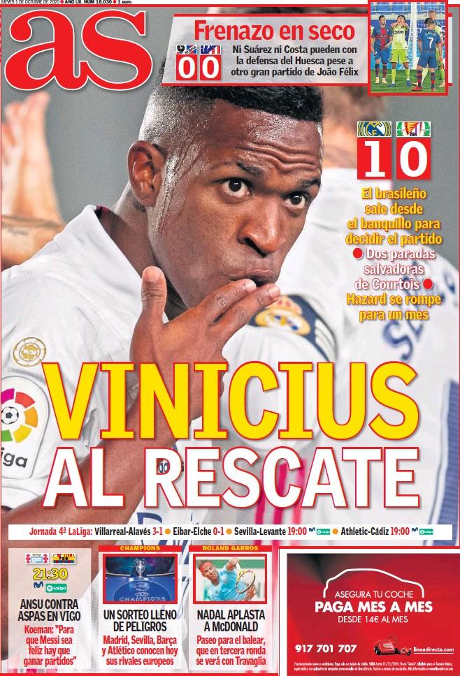 VINICIUS AL RESCATE
