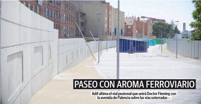 PASEO CON AROMA FERROVIARIO