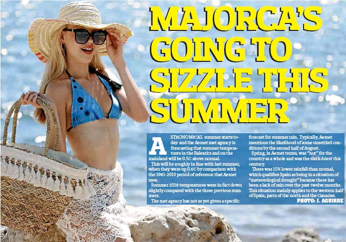 MAJORCA'S GOING TO SIZZLE THIS SUMMER