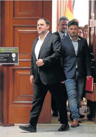 LOS DIPUTADOS PRESOS APROVECHAN SU ACREDITACIÓN EN EL CONGRESO PARA HACER CAMPAÑA