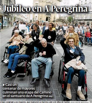 JUBILEO EN A PEREGRINA