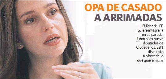 OPA DE CASADO A ARRIMADAS
