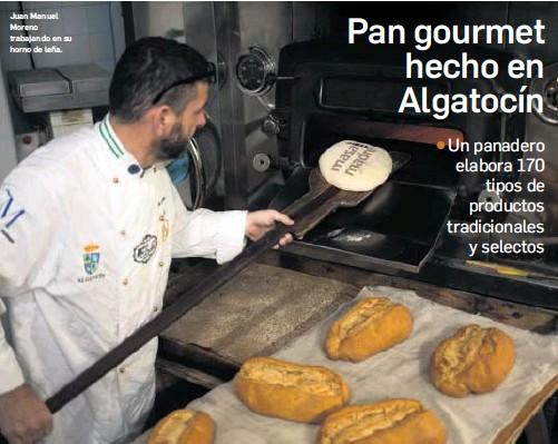 PAN GOURMET HECHO EN ALGATOCÍN